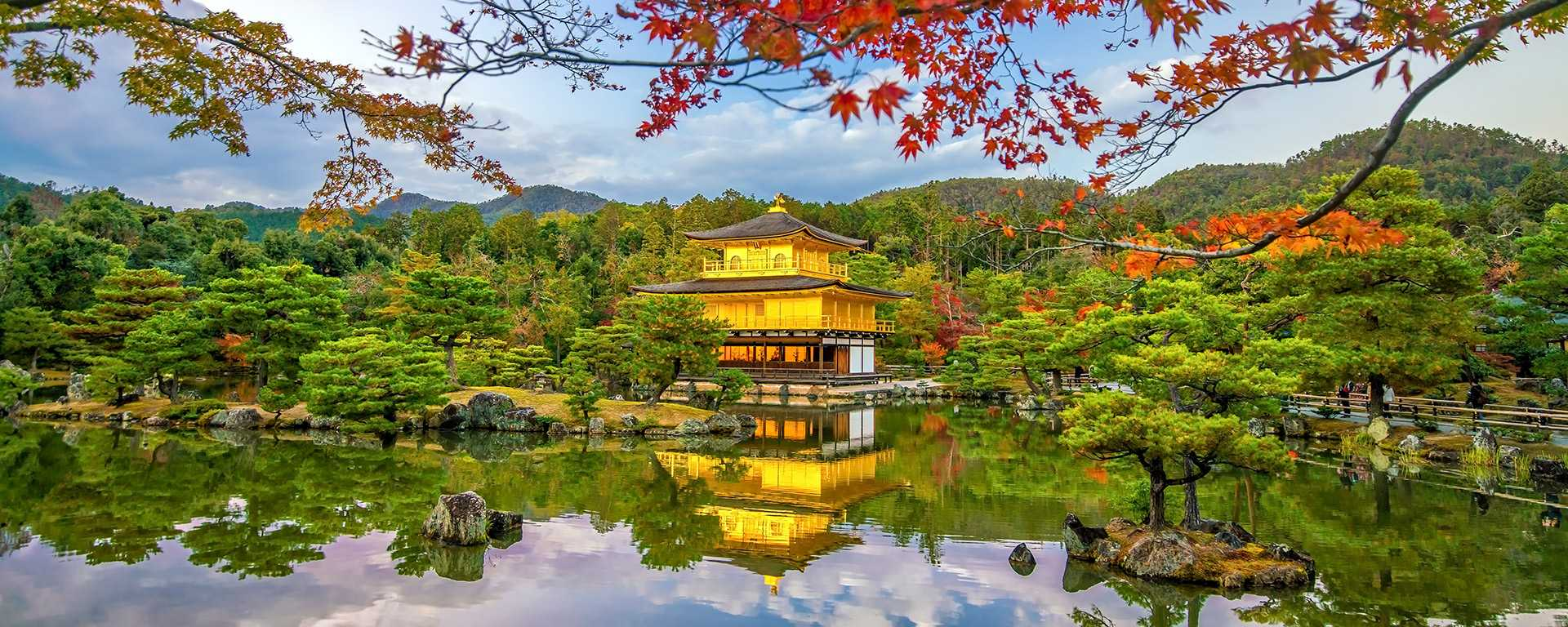 Kyoto-Golden-Pavilion-of-Kinkaku-ji-temple